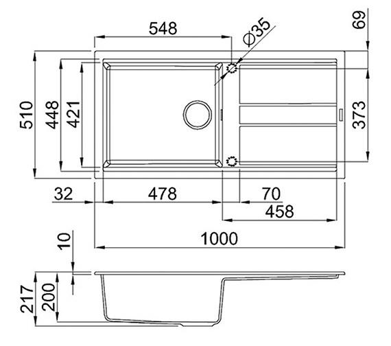 Technical drawing QS-V99100 / BEST 480 B