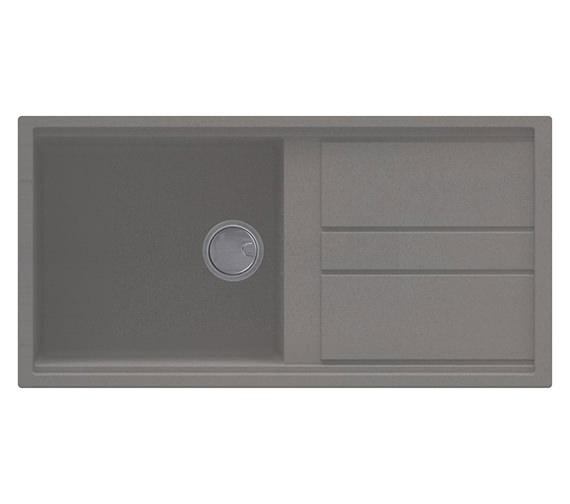 Additional image of Reginox Best 480 Single Bowl Inset Granite Kitchen Sink 1000 x 510mm