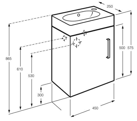 Technical drawing QS-V99666 / 852450100