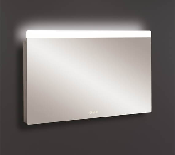 Alternate image of Crosswater Glide II Ambient Lit Illuminated Mirror