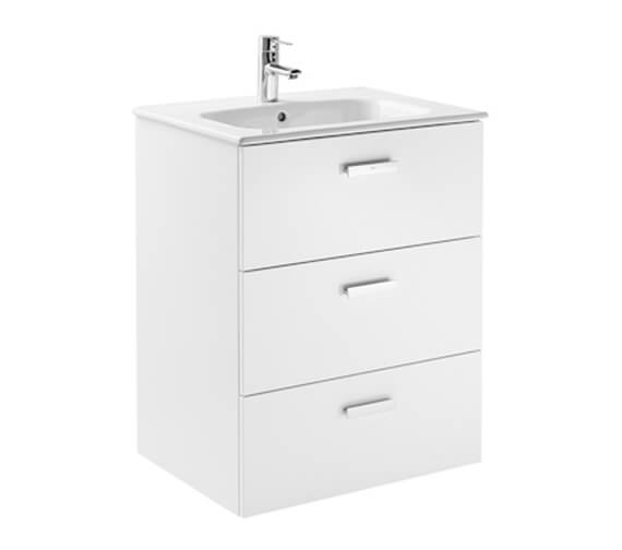 Roca Victoria Unik Wall Hung Vanity Unit With 3 Drawers