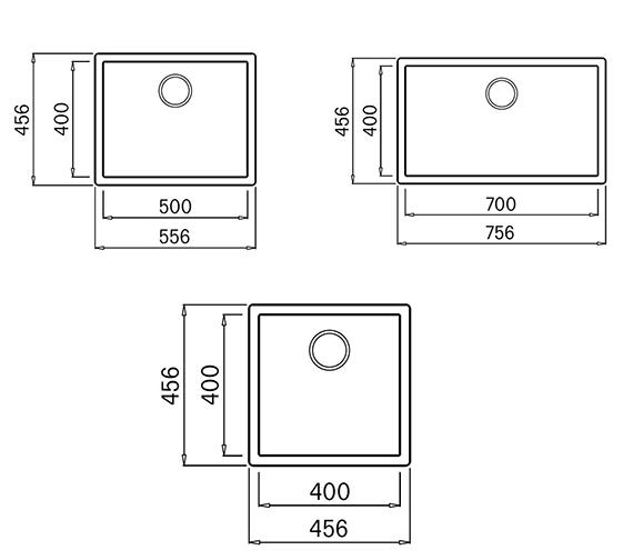 Technical drawing QS-V99109 / Multa 102 W