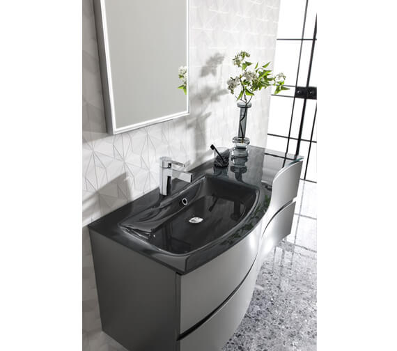 Additional image of Crosswater Svelte 1200 x 520mm 2 Drawer Unit With Basin