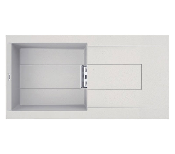 Reginox Smart Single-Bowl Inset Granite Kitchen Sink 1000 x 515mm