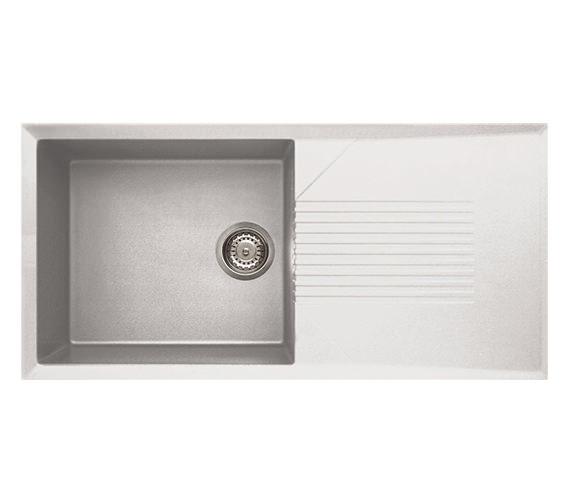 Reginox Tekno 480 Single-Bowl Inset Granite Kitchen Sink 1000 x 500mm