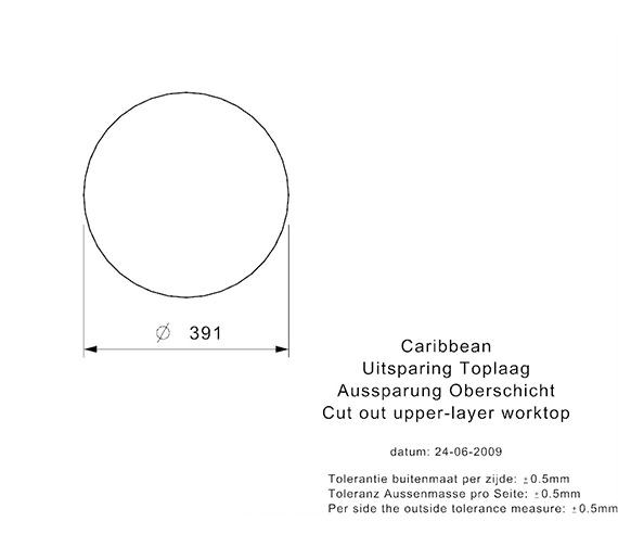 Additional image for QS-V99111 Reginox Sinks - CARIBBEAN L