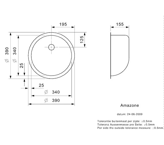 Technical drawing QS-V99112 / AMAZONE L