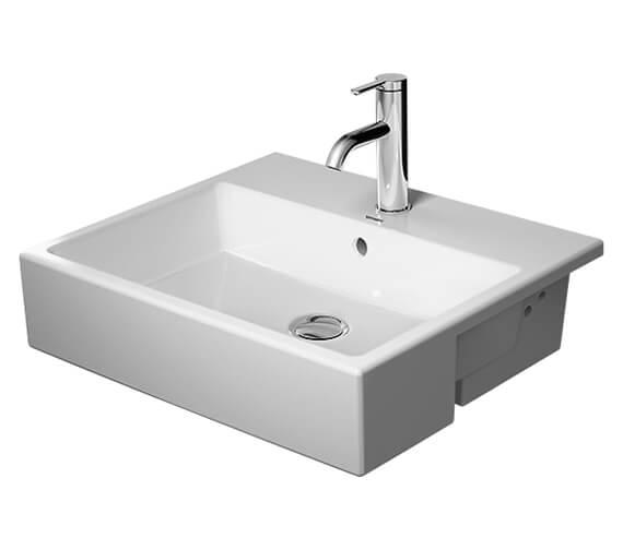 Duravit Vero Air 550 x 470mm Semi-Recessed Washbasin