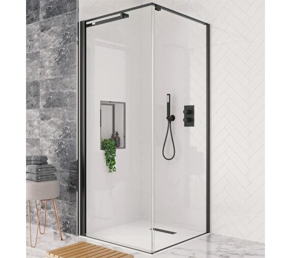 Crosswater Design Plus 2000mm Height Pivot Door