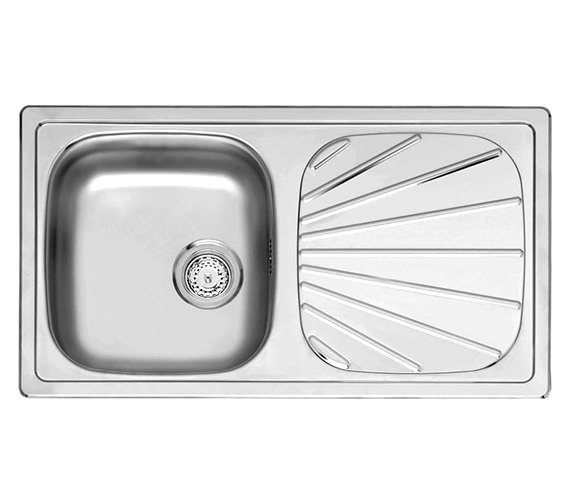 Reginox Beta 10 Single Bowl Stainless Steel Inset Sink 780 x 430mm