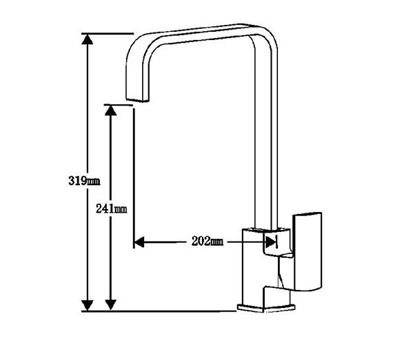Technical drawing QS-V99123 / ASTORIA CH