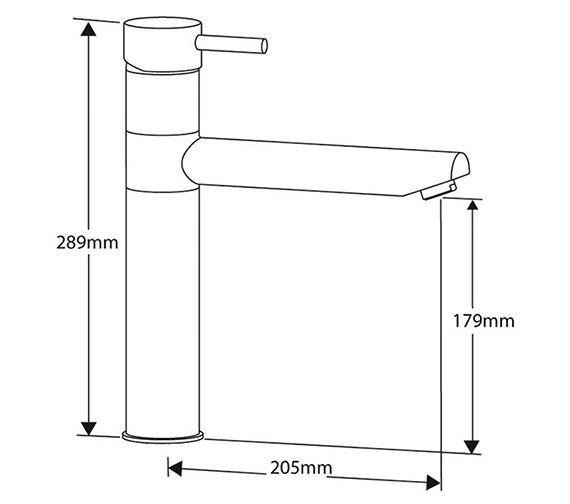 Technical drawing QS-V99122 / HUDSON CH