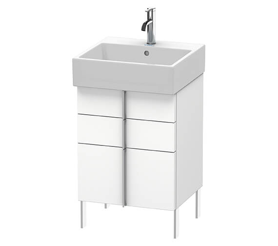 Duravit Vero Air 2 Drawer And 1 Pull-Out Compartment Wall-mounted Vanity Unit With Basin