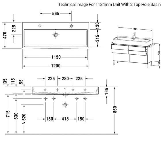 Technical drawing QS-V33515 / VA658401818