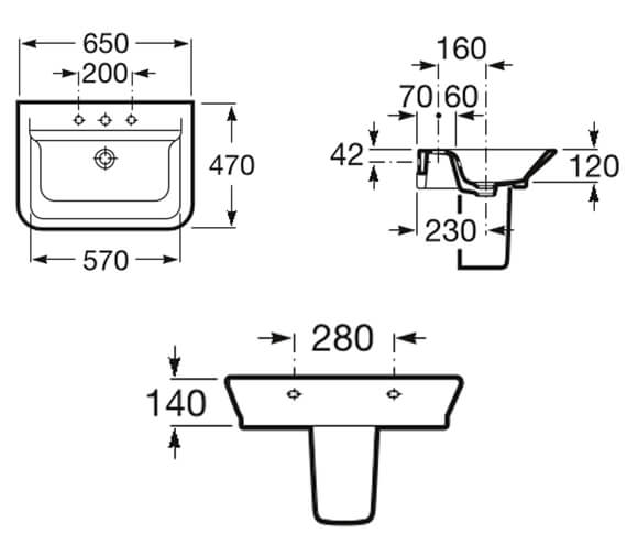 Technical drawing QS-V99669 / 327474000