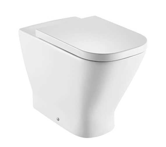 Roca The Gap Single Floorstanding Rimless Wc With Dual Outlet