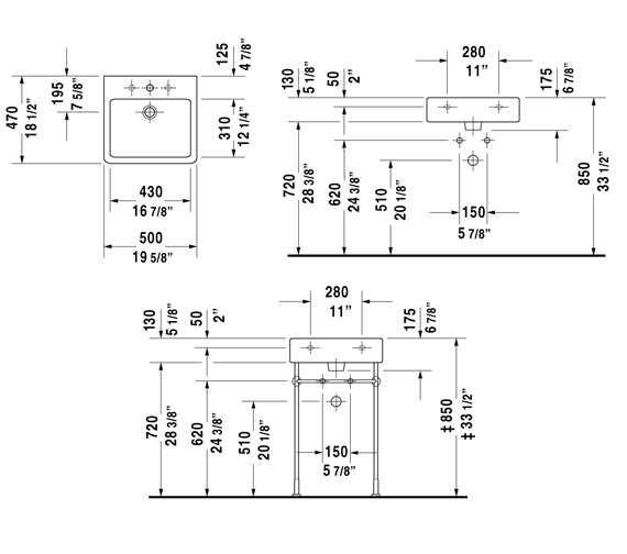 Technical drawing QS-D19331 / 454500060