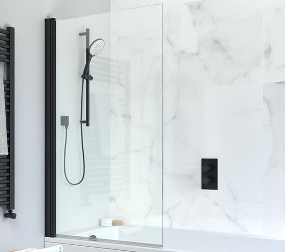 Alternate image of Crosswater Design Plus 850 x 1500mm Frameless Single Bath Screen