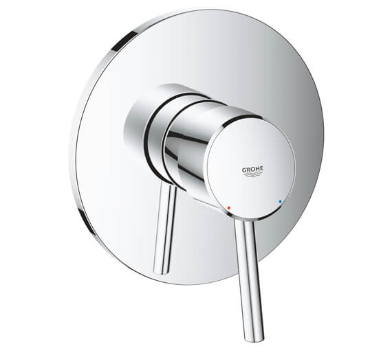 Grohe Concetto Chrome Single Lever Shower Mixer Trim