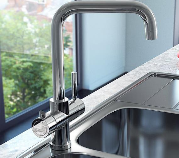 Reginox Amanzi 3-In-1 Instant Hot Water Kitchen Mixer Tap