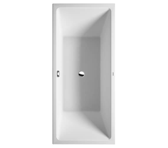 Duravit Vero Air 1800 x 800mm Bath With Seamless Acrylic Panel
