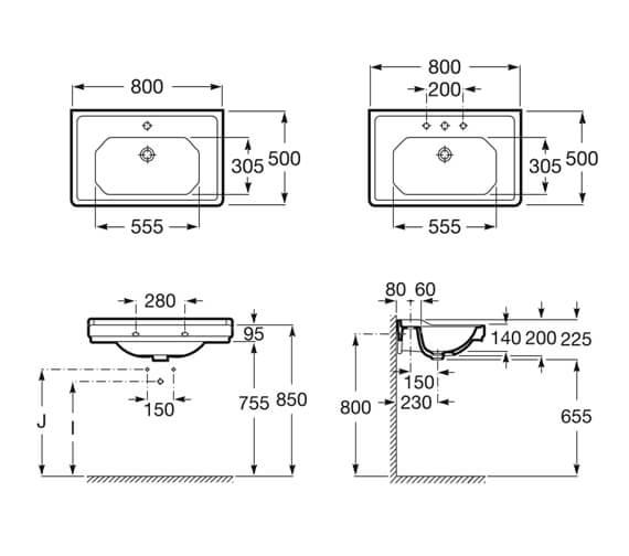 Technical drawing QS-V99680 / 3270A0000