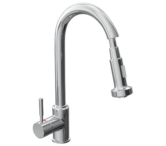 Reginox Tavistock Single Lever Kitchen Mixer Tap With Pull-Out Spray