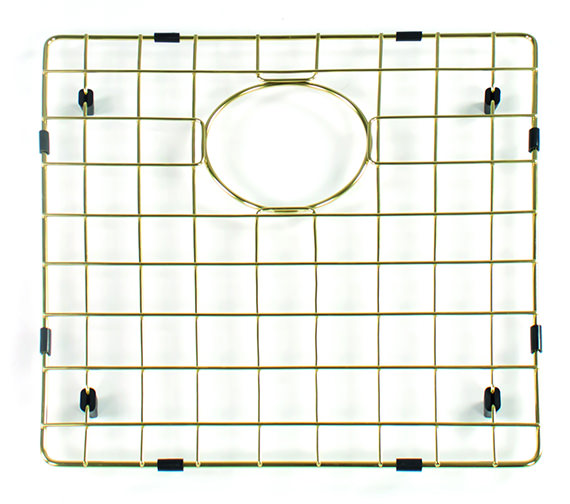 Additional image of Reginox Gun Metal Bottom Grid For Sink 380 x 380mm