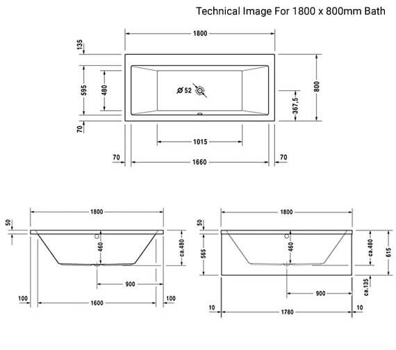 Technical drawing QS-V47618 / 700135000000000