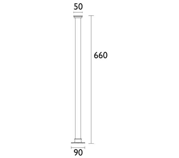 Technical drawing QS-V24413 / THC20