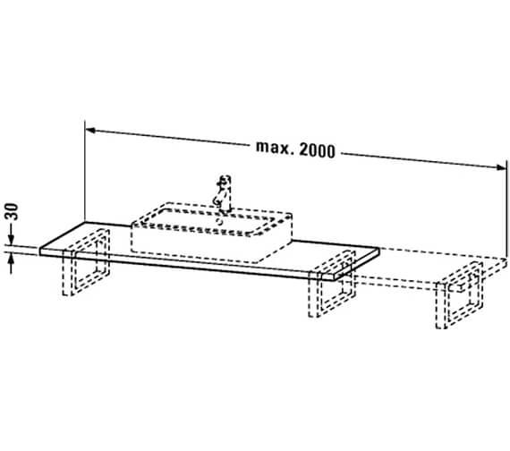 Technical drawing QS-V4482 / VE096C01818