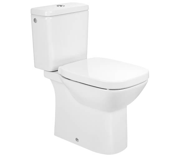 Roca Debba Rimless Open-Back Close Coupled Square WC Pan With Cistern