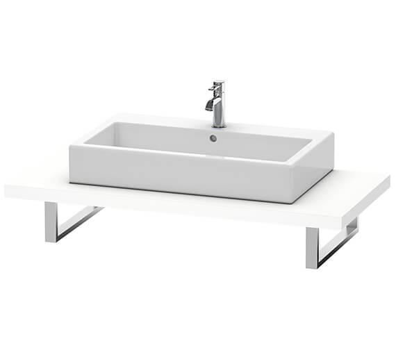 Duravit Vero Air 550mm Depth One Cut-Out Console With LED Light