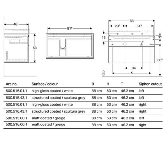 Technical drawing QS-V93743 / 500.515.01.1