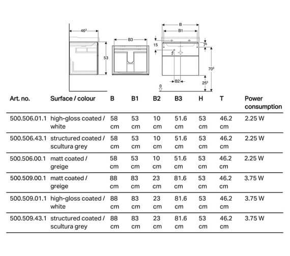 Technical drawing QS-V93741 / 500.506.01.1
