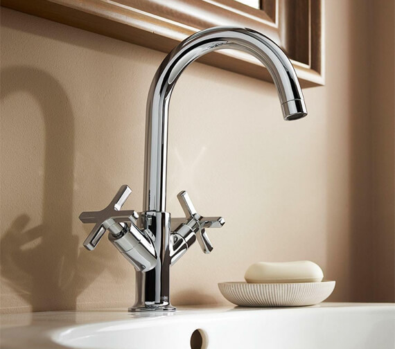 Mira Revive Monobloc Basin Mixer Tap With Pop Up Waste