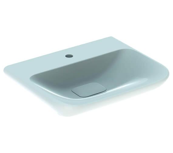 Geberit MyDay 1 Taphole White Washbasin