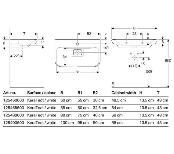 Technical drawing QS-V93813 / 125460600