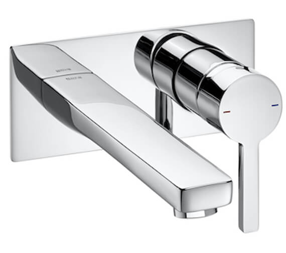 Roca Naia Concealed Single Lever Wall Mounted Basin Mixer Tap