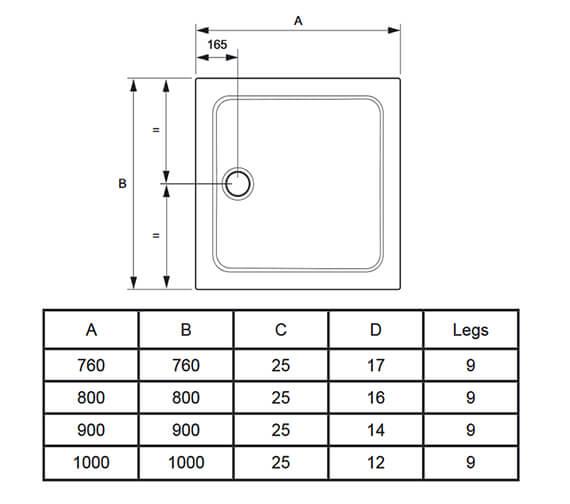 Technical drawing QS-V98046 / 1.1697.014.AS