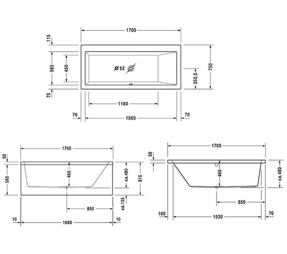 Technical drawing QS-V47611 / 760133000CL1000