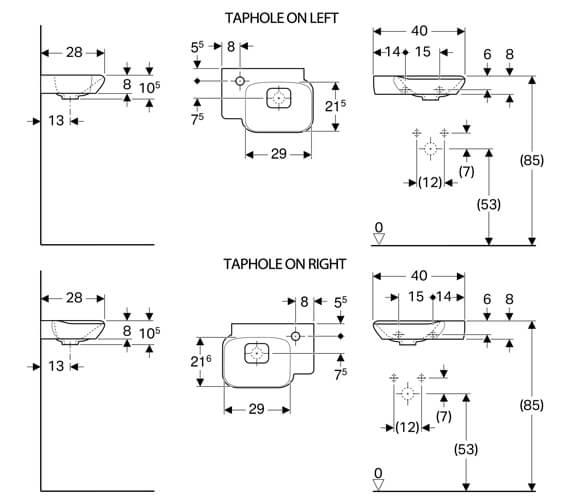 Technical drawing QS-V93814 / 125440600