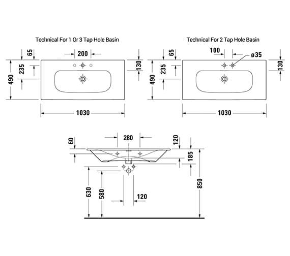 Technical drawing QS-V42527 / 2344630060