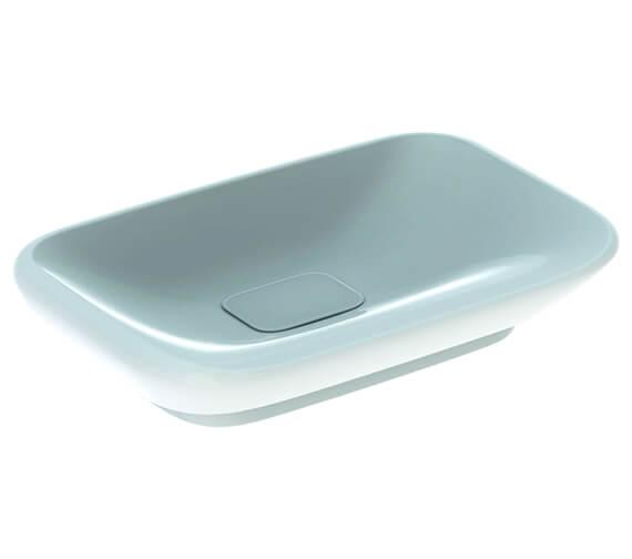 Geberit MyDay 600 x 400mm Countertop Washbasin White