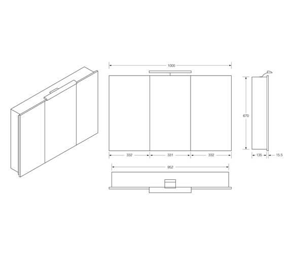 Technical drawing QS-V99697 / 856585406