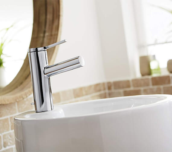 Mira Evolve Monobloc Basin Mixer Tap With Pop Up Waste