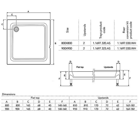 Technical drawing QS-V98047 / 1.1697.320.AS