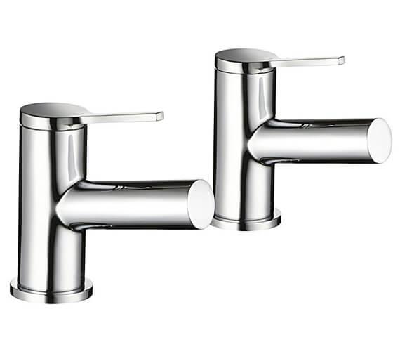 Mira Evolve Pair Of Basin Pillar Taps