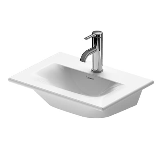 Duravit Viu 450mm Furniture Handrinse Washbasin Without Overflow