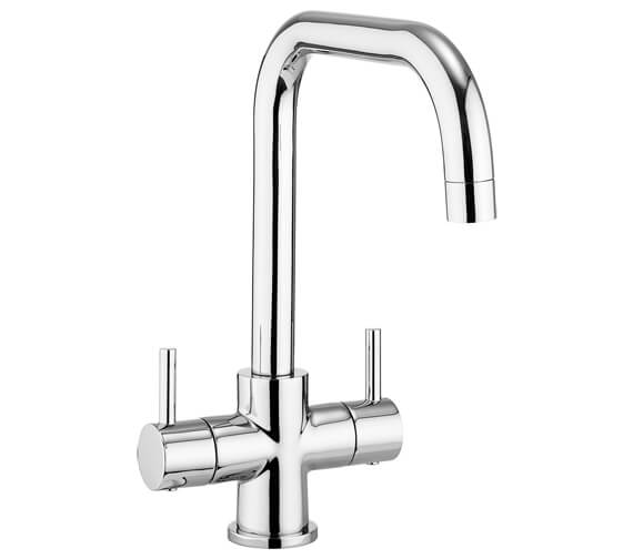 Crosswater Design Dual Lever Kitchen Mixer Tap